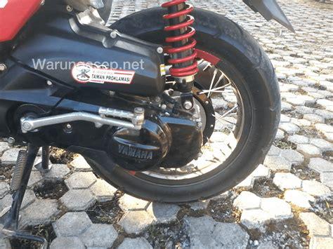 Covertutup As Belakang Yamaha Matic Chrome yamaha x ride modif ala supermoto by wisnu viewiewhite warungasep