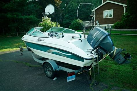 Helm Yamaha Special Swirl 2001 17ft seaswirl 175 bowrider with yamaha 100 4 stroke for sale in springfield virginia