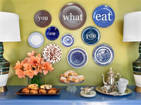 Decorating With Plates by Modern Decorative Wall Plates Hgtv