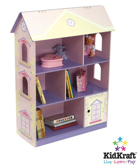 kid kraft dollhouse bookcase the frog and the princess