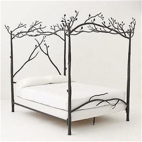 Forest Canopy Bed by Ellipse Metal Canopy Bed West Elm