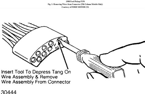 1988 ford f150 ignition wiring diagram 1988 ford f 150