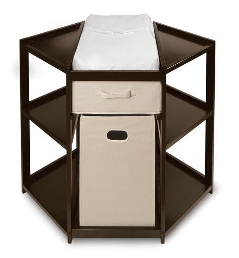 Kmart Crib And Changing Table by Badger Basket Espresso Corner Baby Changing Table