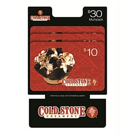 Cold Stone Gift Card Walmart - 30 cold stone gift cards only 24 98 become a coupon queen