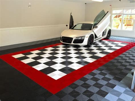 Rubber Mats For Garage Floor by A Glance About The Garage Floor Tiles Theydesign Net