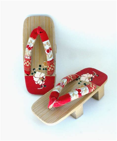 Sandal Geisha wooden geisha sandals japanese geta shoes asian wood