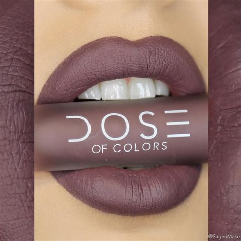 Lipstick Like Dose Of Colors dose of colors matte lipstick cold shoulder matte mates dose of colors cold