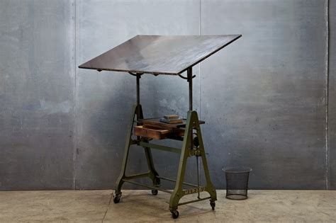 1930s German Design Drafting Table Factory 20 Mechanical Drafting Table