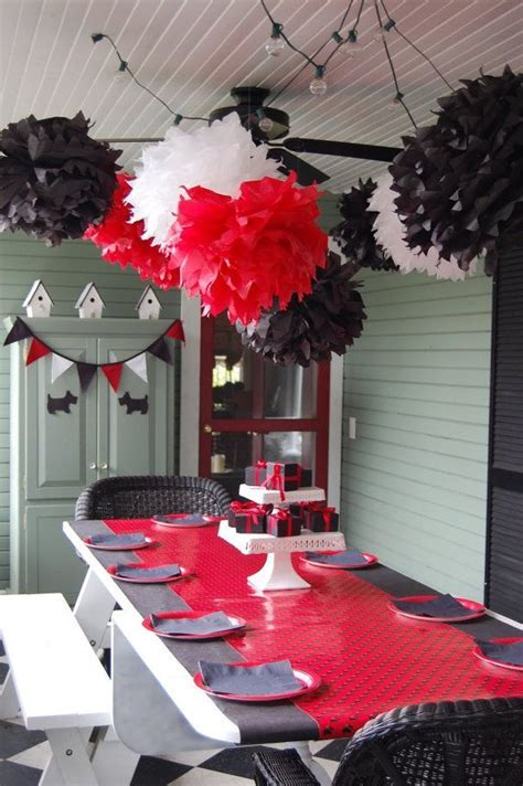 17 Best ideas about Red Party Decorations on Pinterest