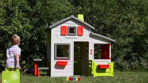 smoby outdoor childrens friends house playhouse uk
