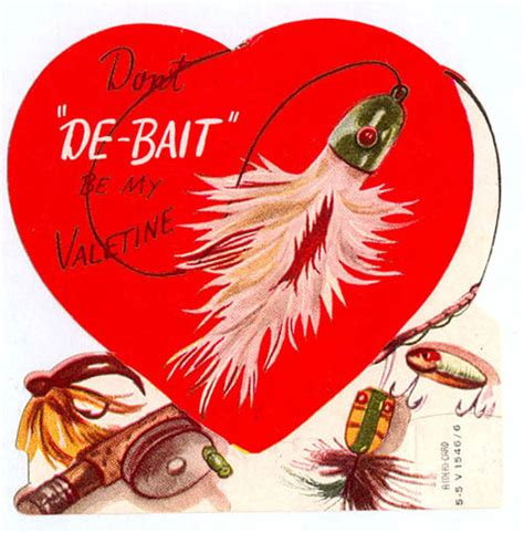 valentines day fish vintage valentines fishing for