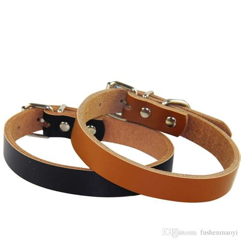 Reyl Acoustic 03 Safety Leather sale accessories real cow leather collars 4