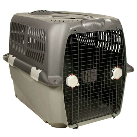 caisse de transport chien pet cargo cage de transport