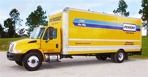 reliable box truck buy van trucks   penske fleet ritchie bros auctioneers