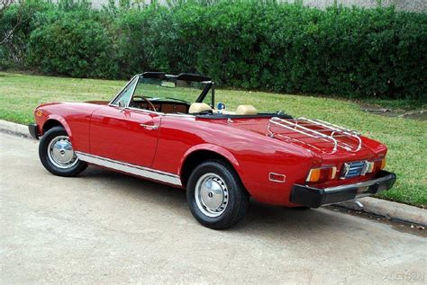fiat spider 1978 1978 fiat 124 pininfarina spider convertible for sale