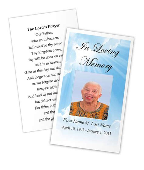 prayer card template pin prayer template on