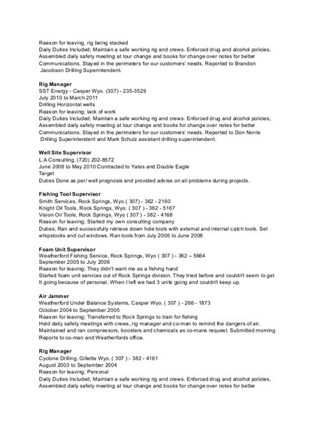 Resume Reason For Leaving by Resume Reason For Leaving Resume Ideas