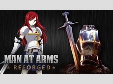 [VIDEO] Man At Arms REFORGED goes Fairy Tail as they forge ... Erza Scarlet Armor Types