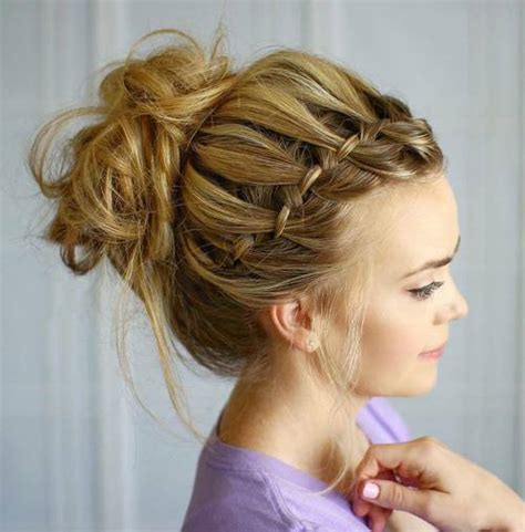 casual hairstyles buns 45 pretty ideas for casual and formal bun hairstyles