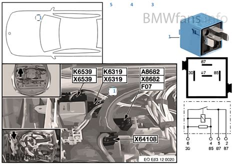 relay for valvetronic k6319 bmw 5 e60 523i n52 malaysia