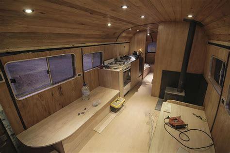 Ski Lodge Floor Plans Old Mercedes Benz Bus Turned Into A Mobile Ski Lodge