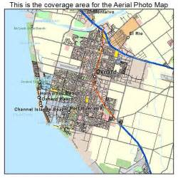 oxnard california map aerial photography map of oxnard ca california