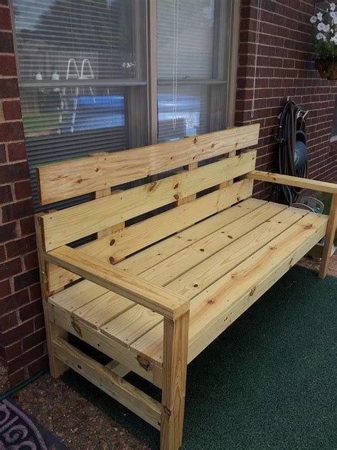 ana white park bench diy projects