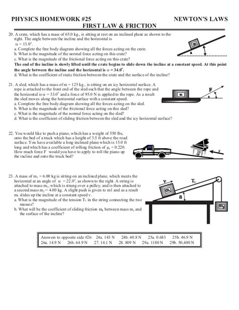 Friction Worksheet by Coefficient Of Friction Worksheet Photos Getadating