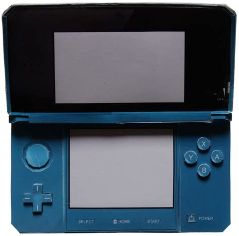 Nintendo Papercrafts - nintendo 3ds nintendo papercraft