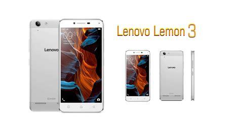 Hp Lenovo Lemon harga hp android lenovo lemon 3 dengan spesifikasi segiempat