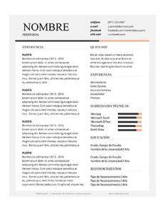 curriculum vitae formato editable descargar formato de curriculum vitae editable para imprimir clubempleos