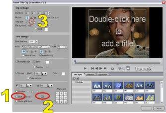 membuat opening video dengan ulead tulisanku tutorial membuat running teks dengan ulead