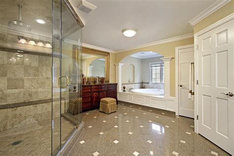 how big should a master bathroom be fabulous large master bathroom master bathroom large glass