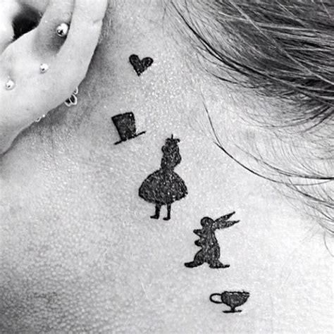 minimalist rabbit tattoo top 100 disney tattoo ideas that evoke nostalgia