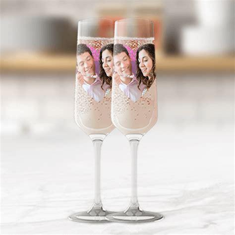 sektglas mit deinem foto bild bedrucken - Sektglas Foto