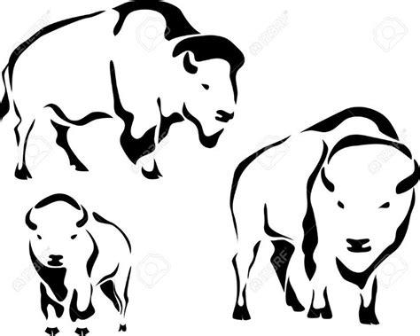 tribal buffalo tattoos bison images tribal search buffalo designs