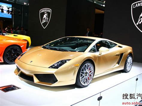 Lamborghini Gallardo Gold 2012 Lamborghini Gallardo Lp560 4 Gold Edition Car