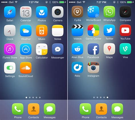 iphone themes download winterboard image gallery iphone 5 jailbreak themes