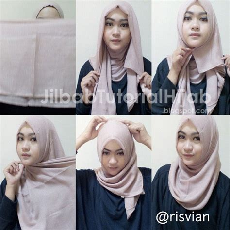 tutorial hijab segi 4 biasa tutorial hijab segi empat simple jilbab tutorial hijab