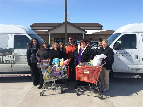 Peoria Food Pantries by Legacy Estates And Courtyard Estates Of Monmouth Support