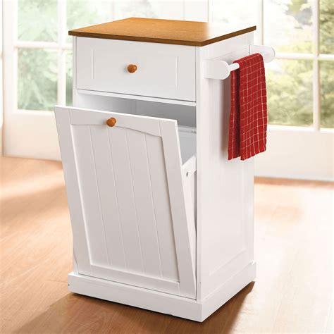 kitchen trash can storage cabinet kitchen furniture kitchen carts islands brylane home tritoo