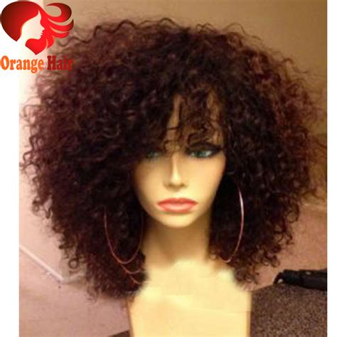 Hairstyle Wigs Human Hair by Afro Human Hair Lace Front Wigs Human Hair Big Curl