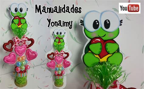 imagenes de amor y amistad en foami manualidades yonaimy
