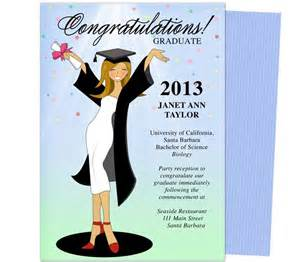 Graduation Card Templates Publisher by Cheer For The Graduate Graduation Announcement