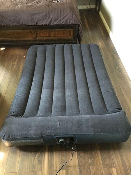 intex pillow rest classic airbed  built  pillow
