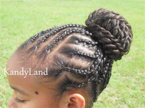 Kandy Braids | kandy braids kandy braids kandyland twisted bun updo