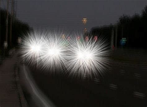 seeing halos around lights at night glaring issues from the heart