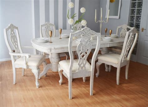 top 100 shabby chic dining table and chairs gumtree