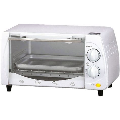 Toaster Broiler Brentwood 97083274m 4 Slice Toaster Oven Broiler In White