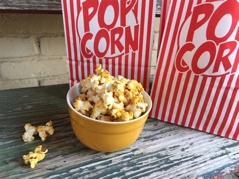 Handmade Popcorn - caramel popcorn